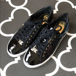 Patent leather Michael Kors sneakers in size 6.5